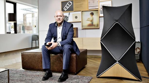 Forhandlere: Fantastisk interesse for B&O's liebhaver-højttalere