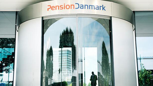 Pensiondanmark g�r p� datah�st for h�jere kundetilfredshed