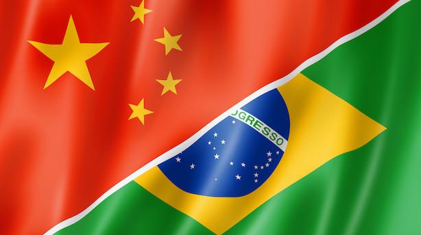 Lars Christensen: Brasiliens olympiske optur er skabt af Kina