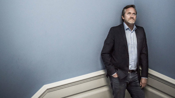 Leder: Anders Samuelsen skal ned fra sin trætop