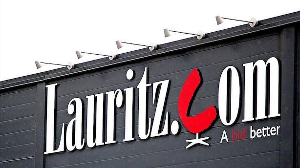 Lauritz-aktie har svært ved at holde kursen