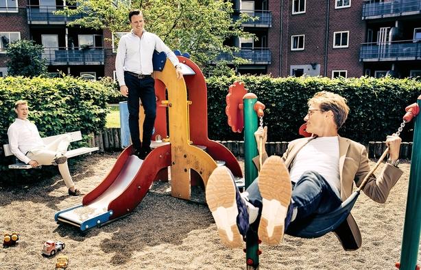 Tre venner fra Odense banker på til milliardmarked: De laver udlånsplatform