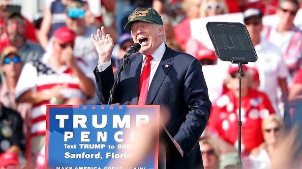 Danske topchefer giver Trump en iskold skulder