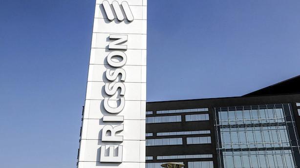 Aktieoptur lurer i presset Ericsson