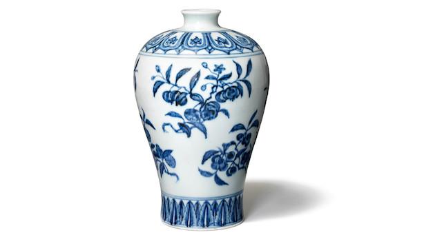 Sjælden Ming-vase sætter rekord hos Bruun Rasmussen