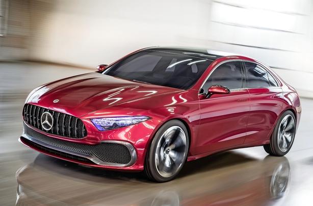 Her er fremtidens kompakte Mercedes