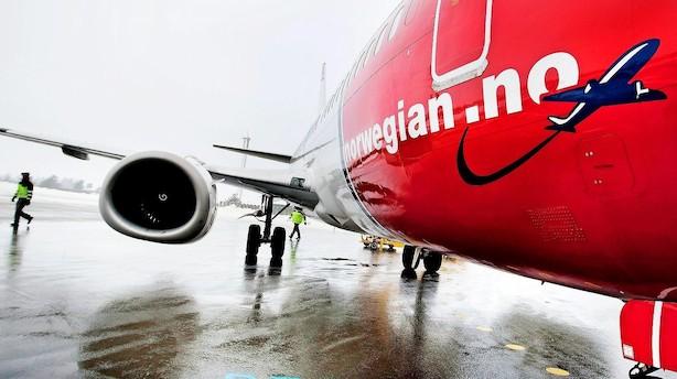 Opsigtvækkende tronskifte på vej: Norwegian på nippet til at overhale SAS