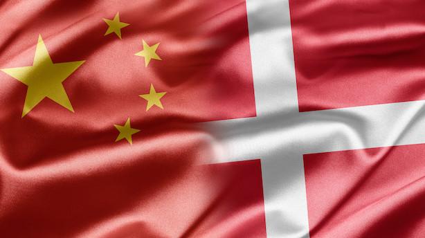 Kronik: Danmark skal holde alle døre til Kina åbne
