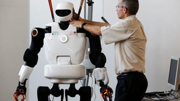 Kronik: Flere robotter kan sikre fremtidens job