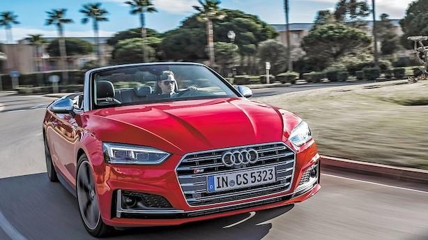 Ny Audi er en topløs fornøjelse