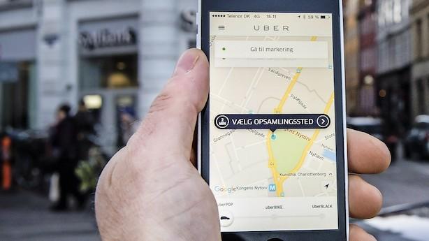 Børsen mener: Uber-loven er til grin - velkommen til nutiden