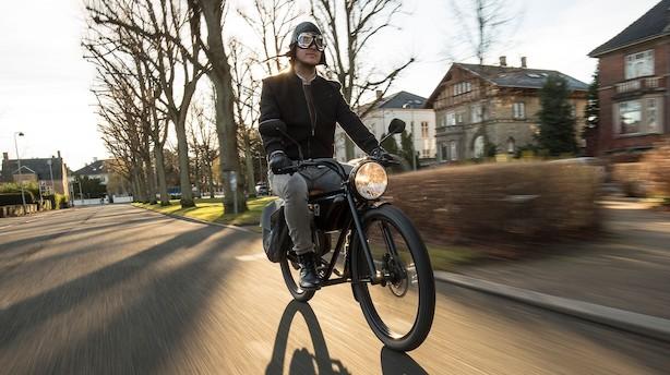 Forårstest på Frederiksberg: Den eldrevne hipstercykel