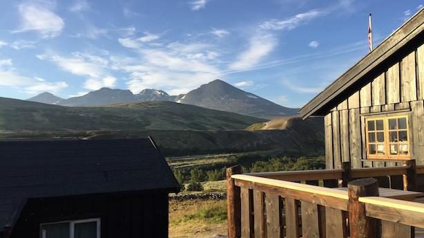 Digital detox på en norsk fjeldside