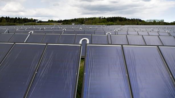Solinvesteringer hitter trods færre tilskud