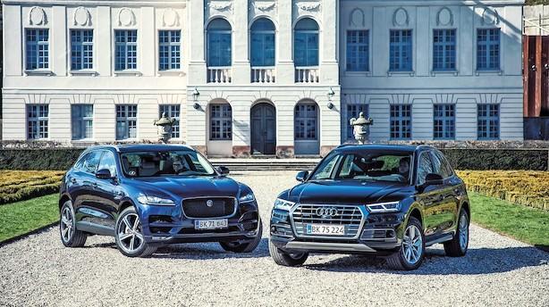Test: Frække Jaguar vs. pæne Audi Q5