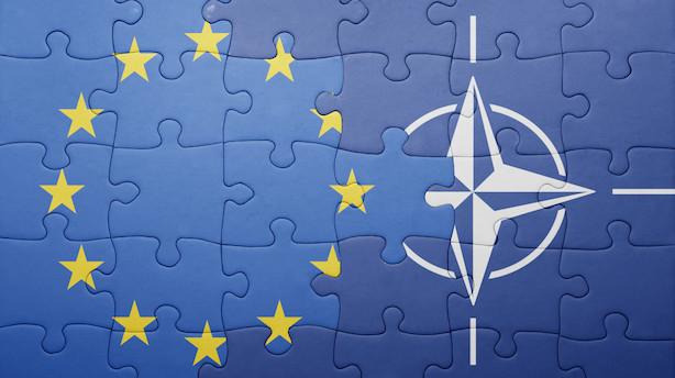 Kronik: EU opruster forsvarspolitisk