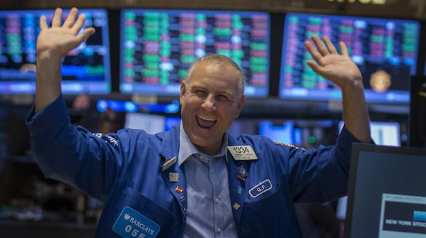 Bullmarked i aktier på niende år