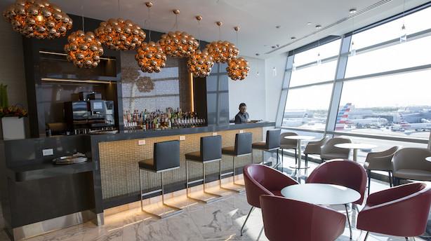 En lufthavns-restaurant så eksklusiv, at ikke engang business class har adgang