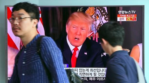 Analyse: Præsident Donald Trump bruger retorik som sur 5-årig