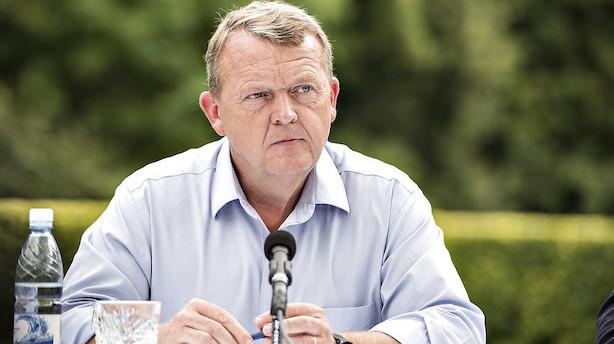 Børsen mener: Her er din chance, Lars Løkke - krisen er slut