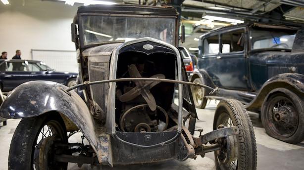 """Debat: """"Den høje registreringsafgift betyder, at jeg jævnligt finder rustbeskyttelsen frem og maler min dejlige men gamle bil"""""""