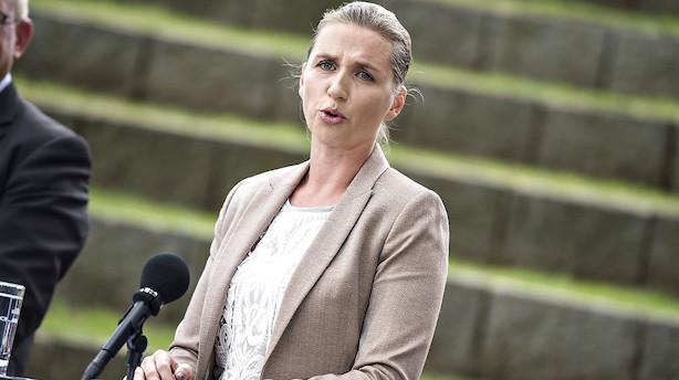 Debat: Mette Frederiksen kan da bare love højere skatter