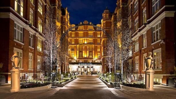 Snup en overnatning på hotellet der har huset hemmelige agenter i hobetal