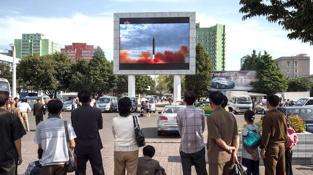 Kronik: Aktier er kloge - de lader sig ikke skræmme af Nordkorea