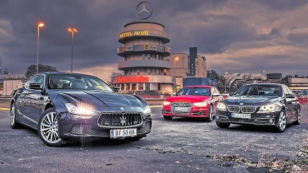 Hvad skal en importeret luksusbil koste med de nye bilafgifter?