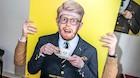 Kendt komiker er født blind: Hvis dit liv er kørt på skinner hvorfor så blive skæg?