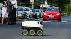 """Robotterne kommer  med fred og pizza: """"Vores mål var først og fremmest at få vores robot til at se venlig ud"""""""