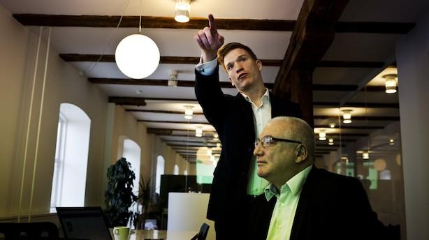 Far og søn springer ud som iværksættere