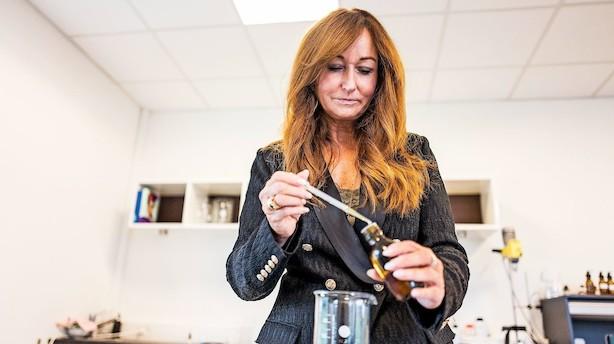 Tina Søgaard fik to internationale firmaer ud af sin lugtesans