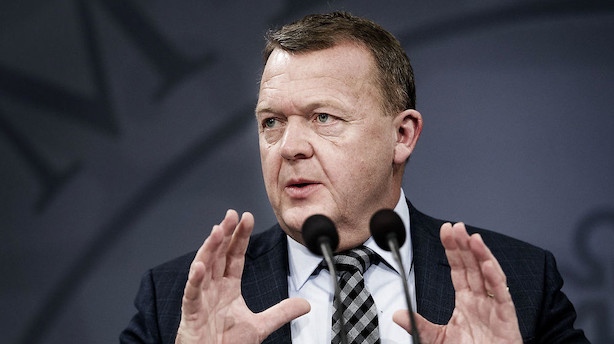 Børsen mener: Godt du stopper tuskhandel om skat og udlændinge, Løkke