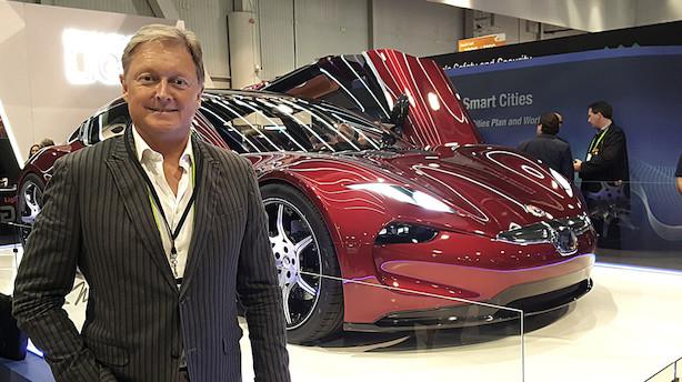 En mand og hans biler