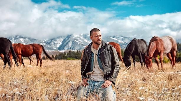 Albumaktuelle Justin Timberlake er en moderne Elvis