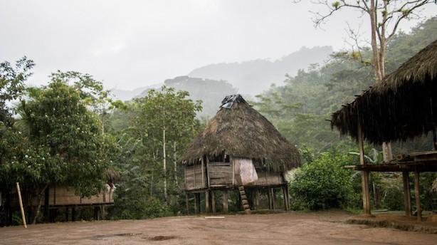 Overnat i tidslommen i Panamas jungle