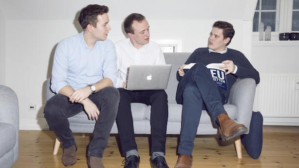 22-årige jurastuderende startede sprogfirma: I dag har de 37 ansatte