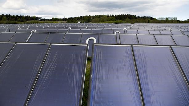 Debat: Solcellebranchen efterlyser lige og teknologineutral konkurrence