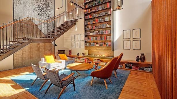 Canopy by Hilton er mindre typedesign og mere boutiquehotel