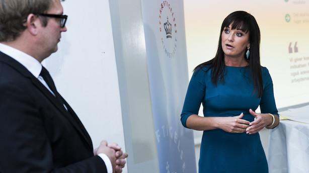Børsen mener: Sophie Løhde skal stå fast over for Bondo