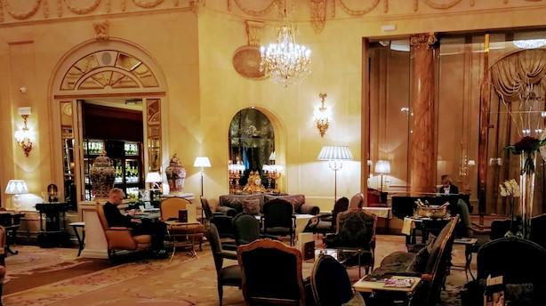 Overdådig frokost på The Ritz i Madrid for bare 77 euro alt inklusive