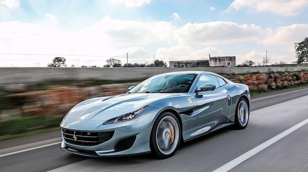 Ferrari Portofino er mere muskuløs og elegant end forgængeren