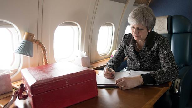Debat: Velkommen til Danmark, Theresa May
