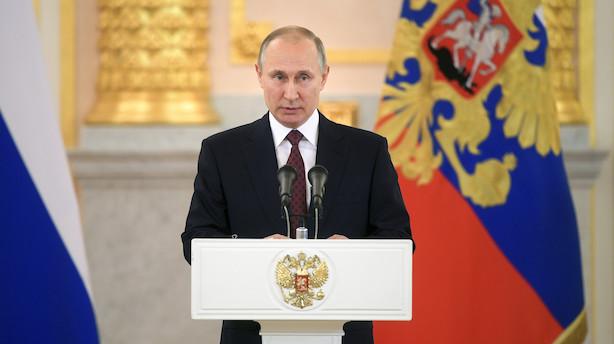 Børsen mener: Sæt en prop i Putins gasrør