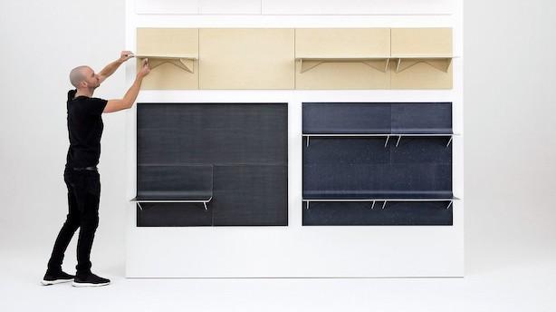 Dansk virksomhed laver dit genbrugstøj til møbler