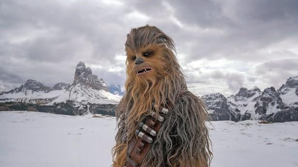 """Manden inden i Chewbacca: """"Jeg får hår i munden hver dag"""""""