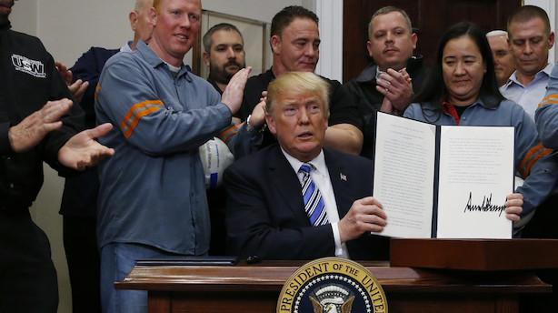 Bjørnskov: Man beskytter ikke arbejdspladser med toldmure