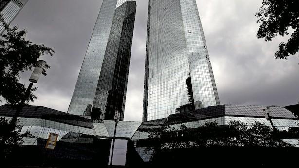 """Chokerende tal"" om dybe fald i bankaktier"