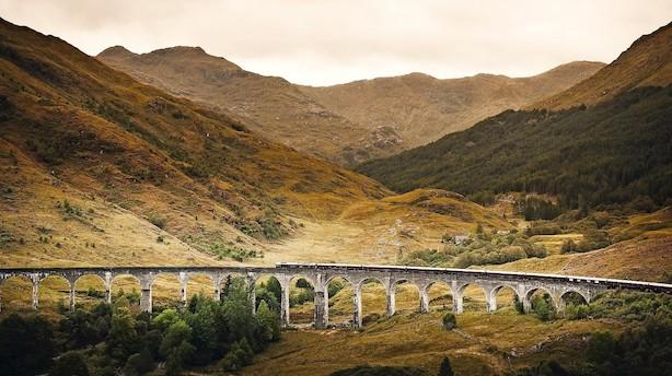 Kom med på luksusklasse gennem det skotske højland